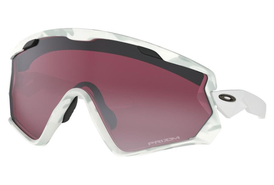 Oakley Wind Jacket 2.0 Brillen Schnee Camo Prizm Snow Schwarz / ref ...