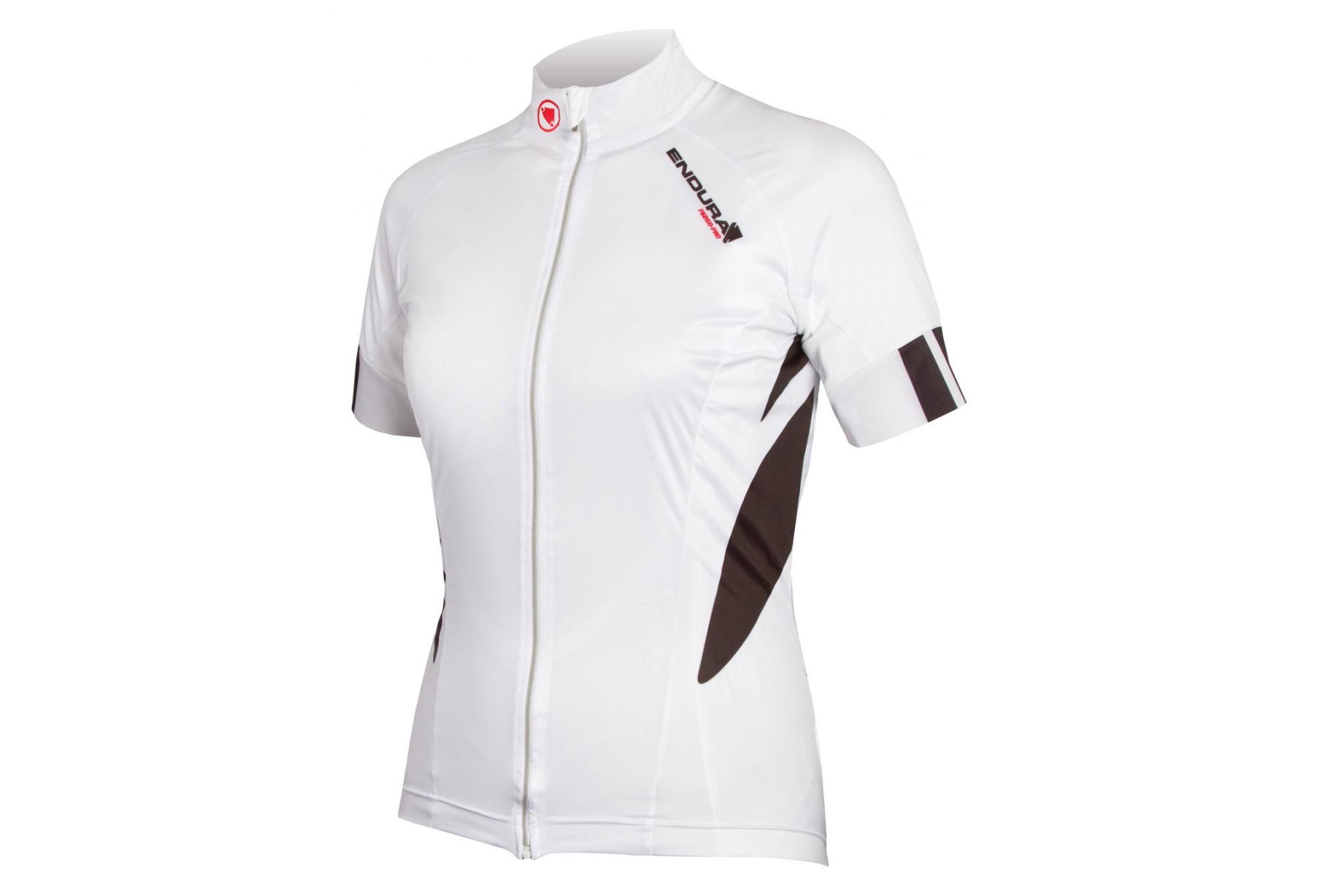 Endura FS260-Pro Jetstream Women Short Sleeves Jersey White ... 2cb319d4f