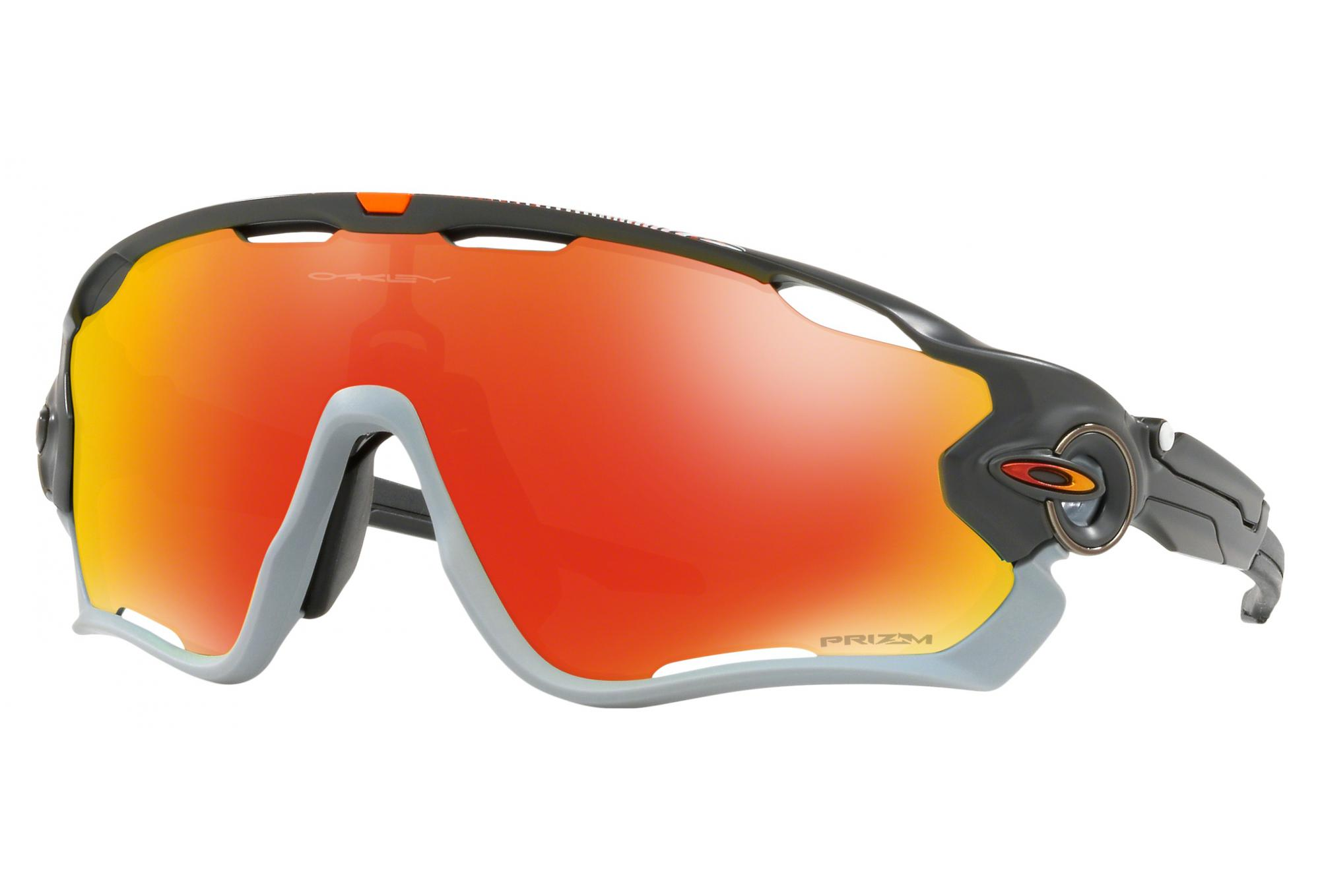 e19fb06be65c5 Lunettes Oakley Jawbreaker Aero Flight Carbon Mat - Prizm Ruby Ref  OO9290-3431