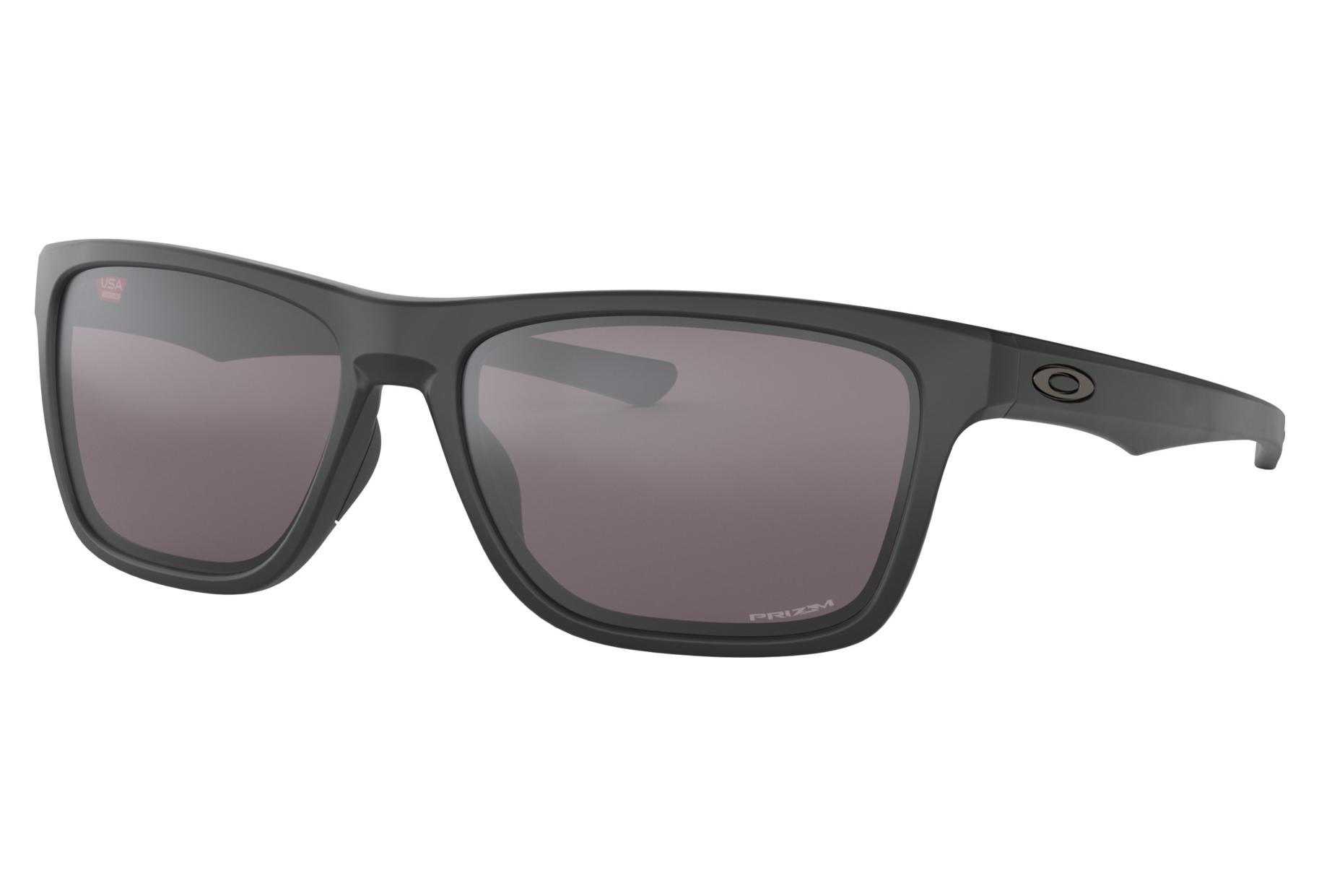 d0e4fb70ad7760 Lunettes Oakley HOLSTON Matt Black Prizm Grey Ref OO9334-0858 ...