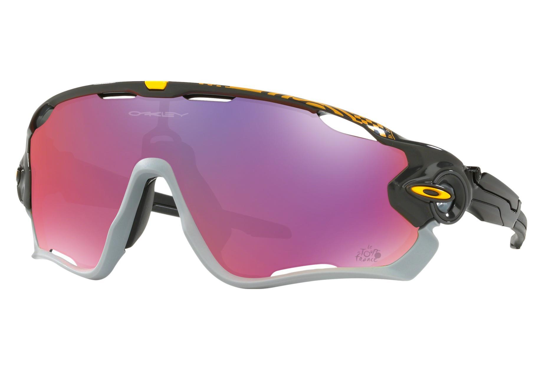 5b3660c44e Gafas Oakley Jawbreaker Tour de France 2018 white¤black red Prizm Road