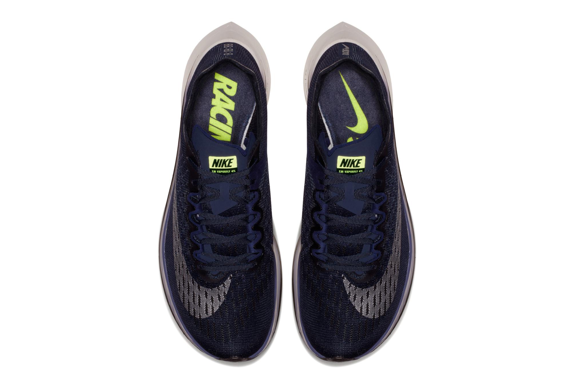 6b6d74846b30 NIKE Zoom Vaporfly 4% Shoes Green Orange Men