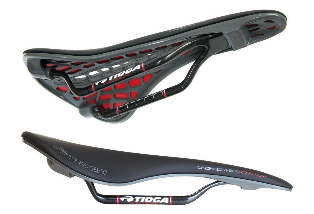 Tioga Undercover Stratum Carbon Saddle Black Bike