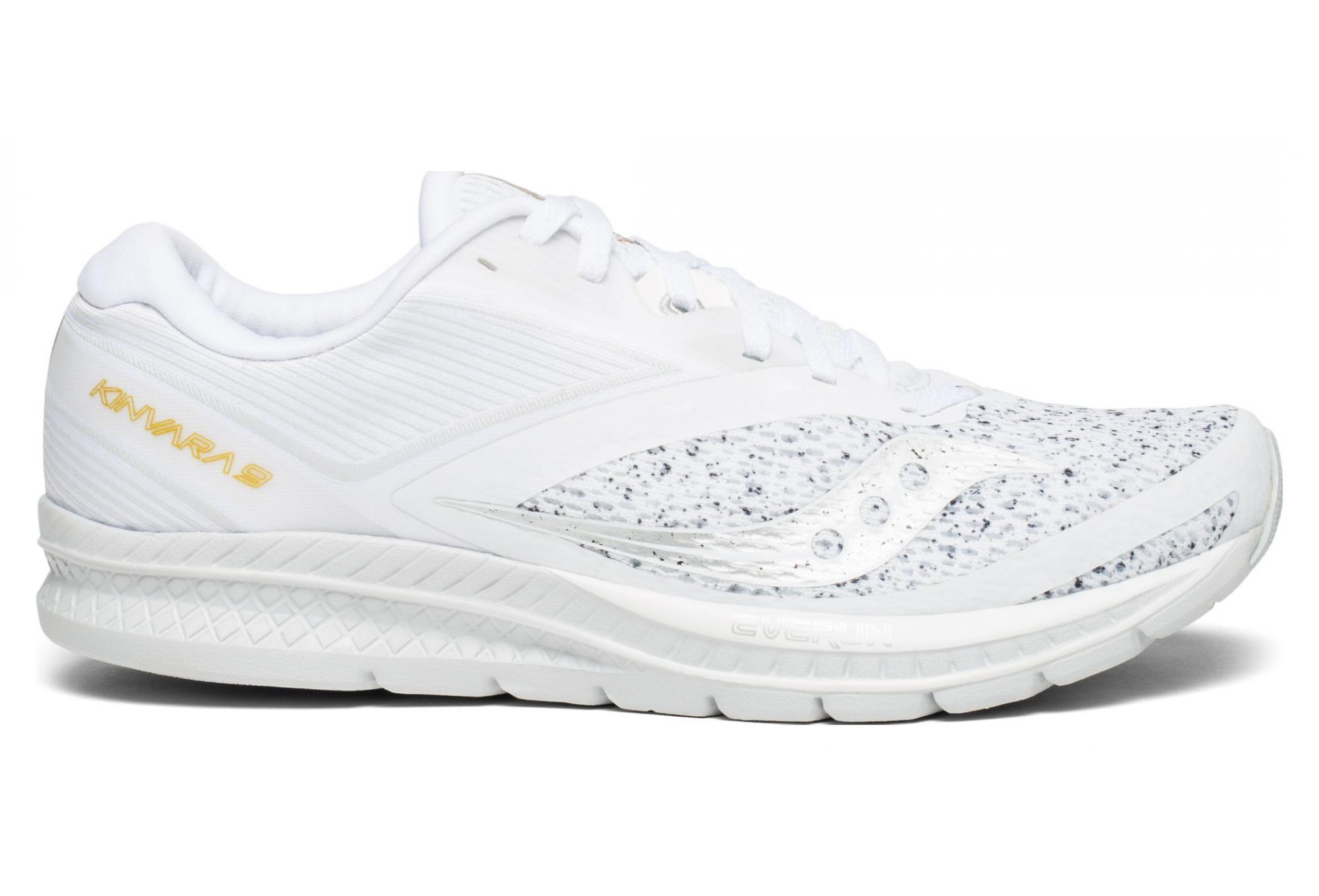 62cc2b9f5472 Saucony Kinvara 9 Shoes White Noise