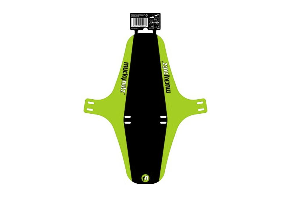 Muckynutz Fat Bike Face Fender XL Garde-boue-Noir//Blanc