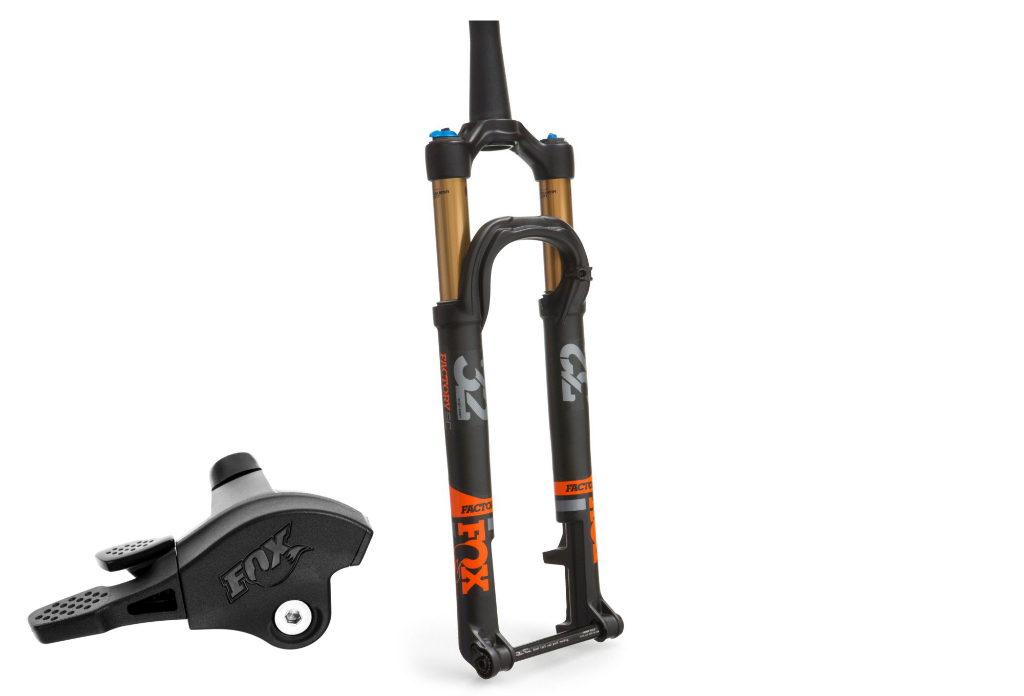 FOX RACING SHOX 2019 Fork 32 Float SC Factory FIT4 Remote 29'' Kabolt |  15x100mm | Offset 44mm | Black