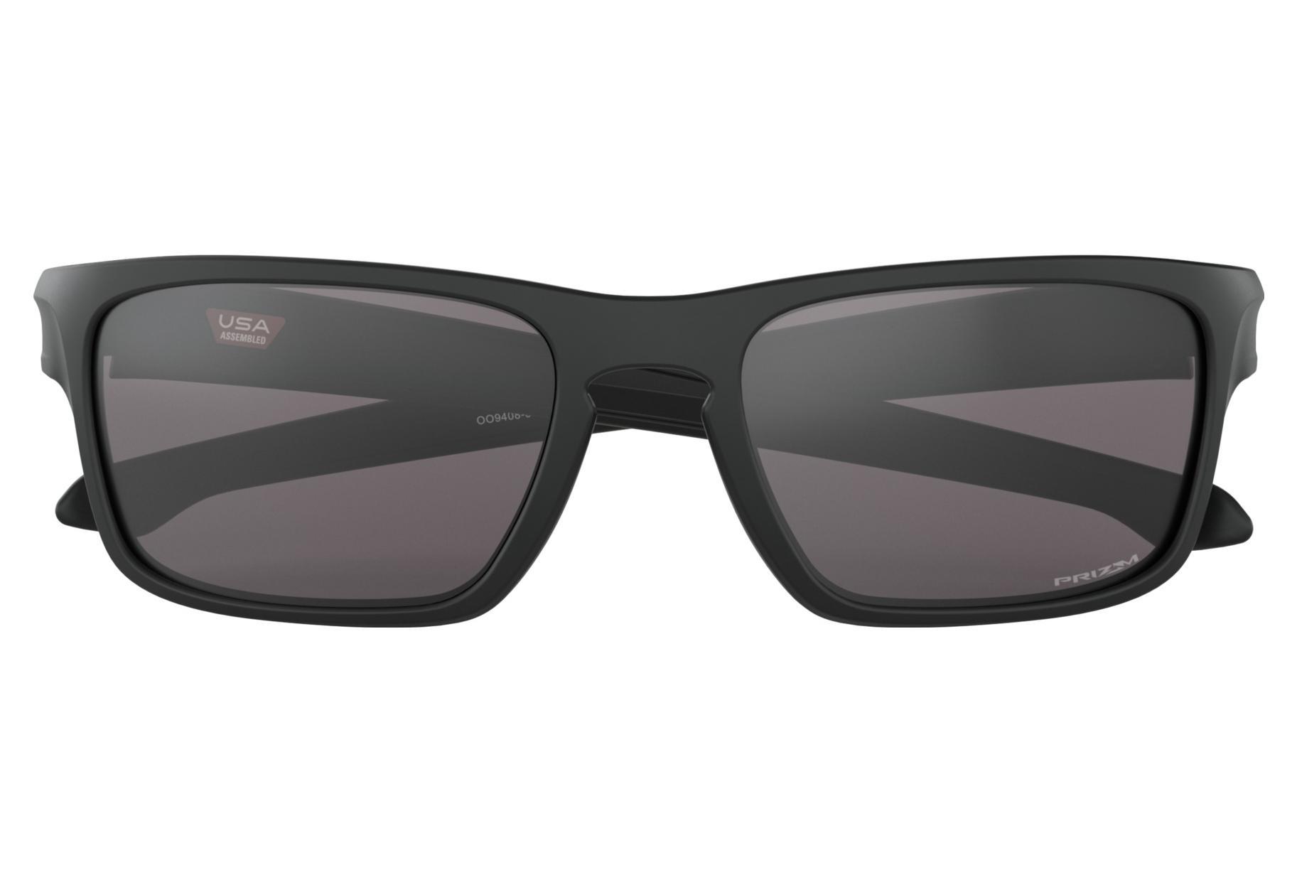 bd585f7d63 OAKLEY Sliver Stealth Sunglasses Matte Black Prizm Grey OO9408-0156 ...