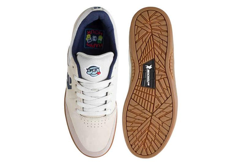 6dc4273cee766e Etnies Marana Michelin X Happy Hour Shoes White Gum
