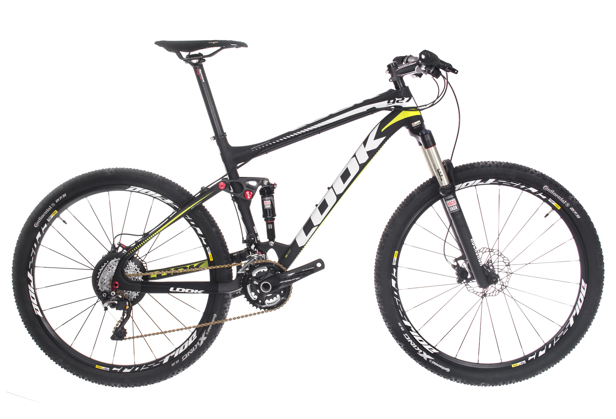 Full Suspension MTB Look 927 carbon/alu Shimano XT 10S 27.5''