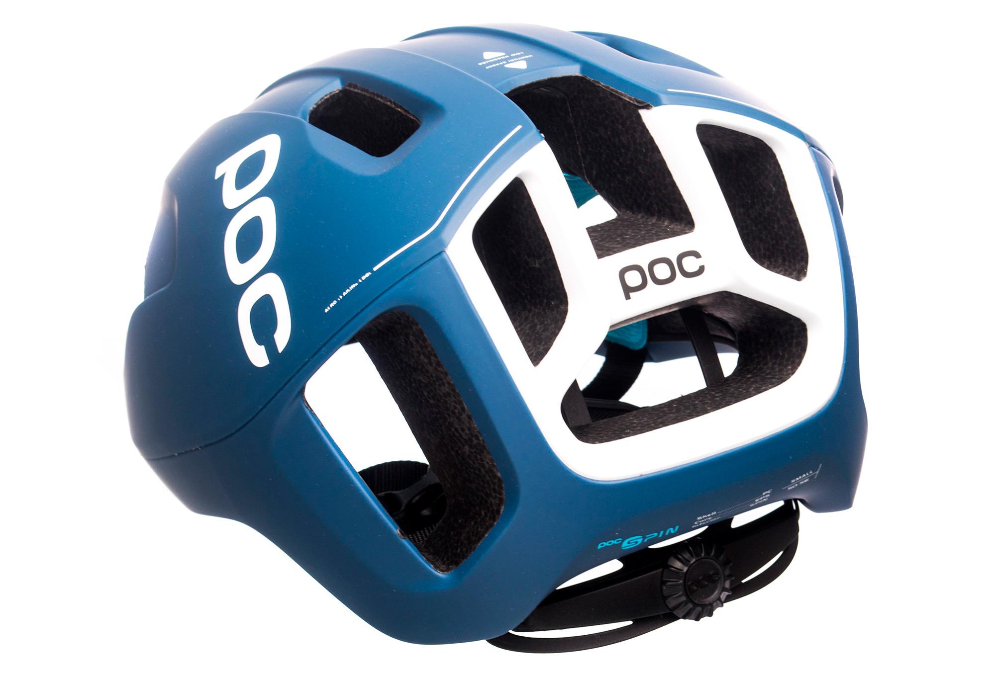 POC Octal Aero CPSC Casque vélo Bleu Marine Noir-Medium 54-60 cm