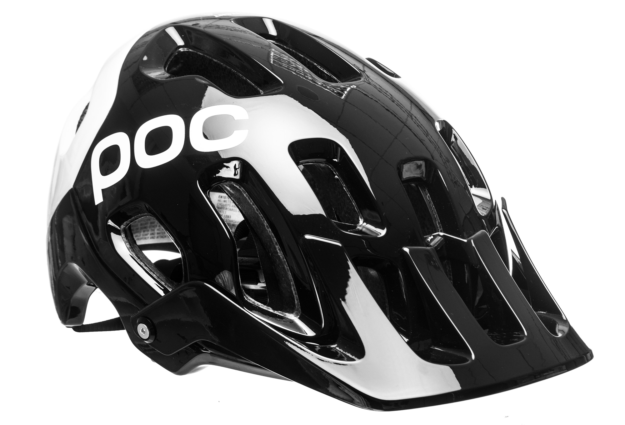 POC Tectal Race Spin Mountain Bike Cycling Helmet White Size XL//XXL