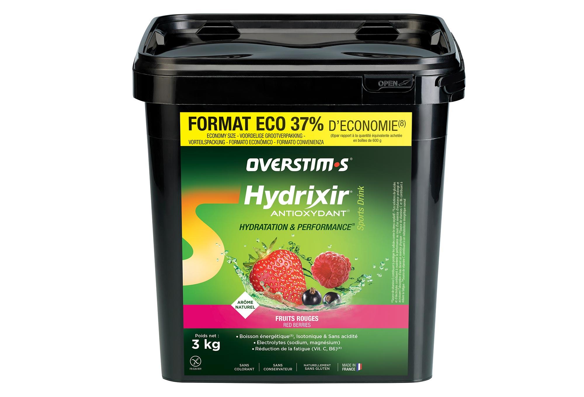 OVERSTIMS Energy Drink ANTIOXYDANT HYDRIXIR Red Berries 3kg