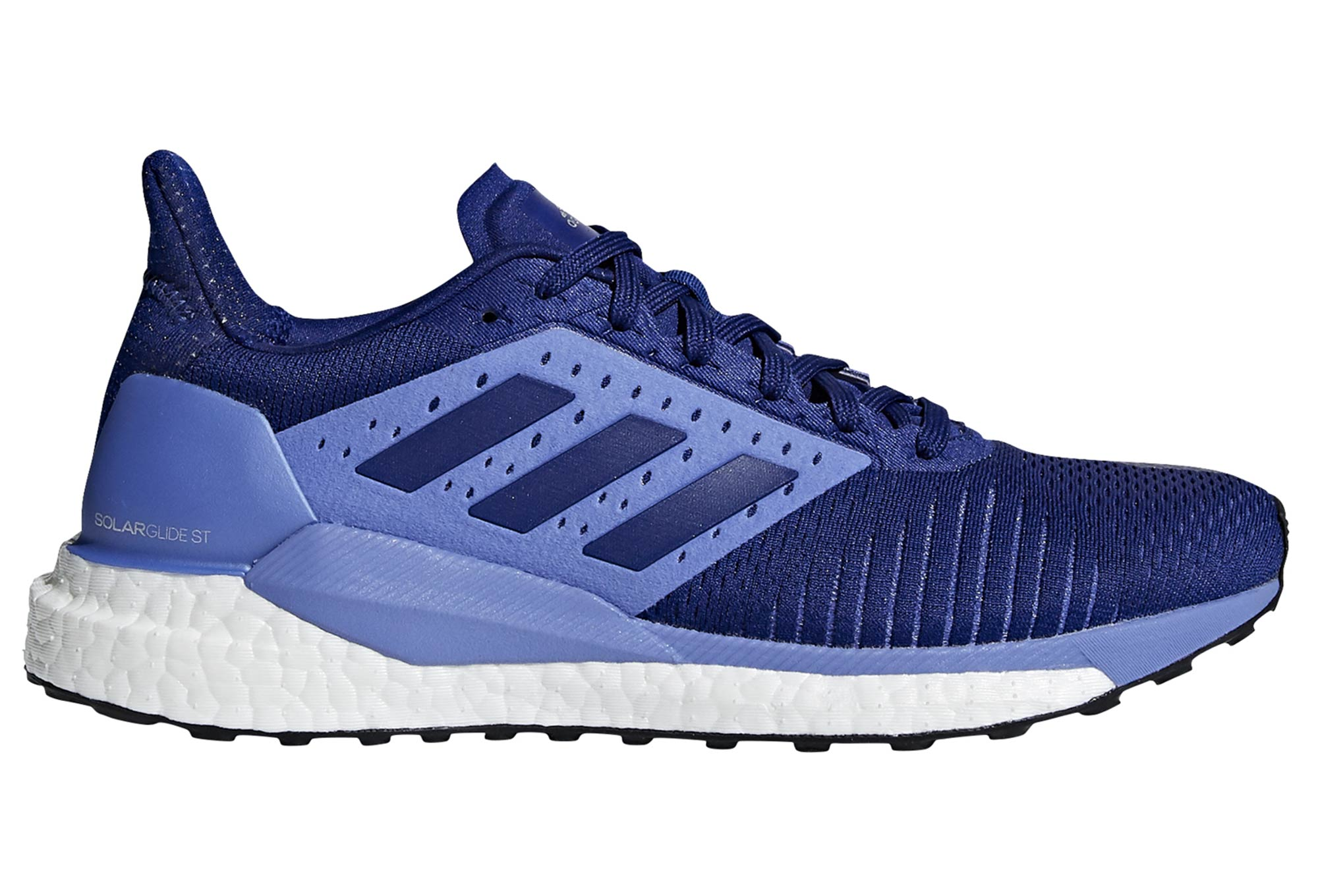 adidas running Solar Glide ST Women Running Shoes Blue / Pink