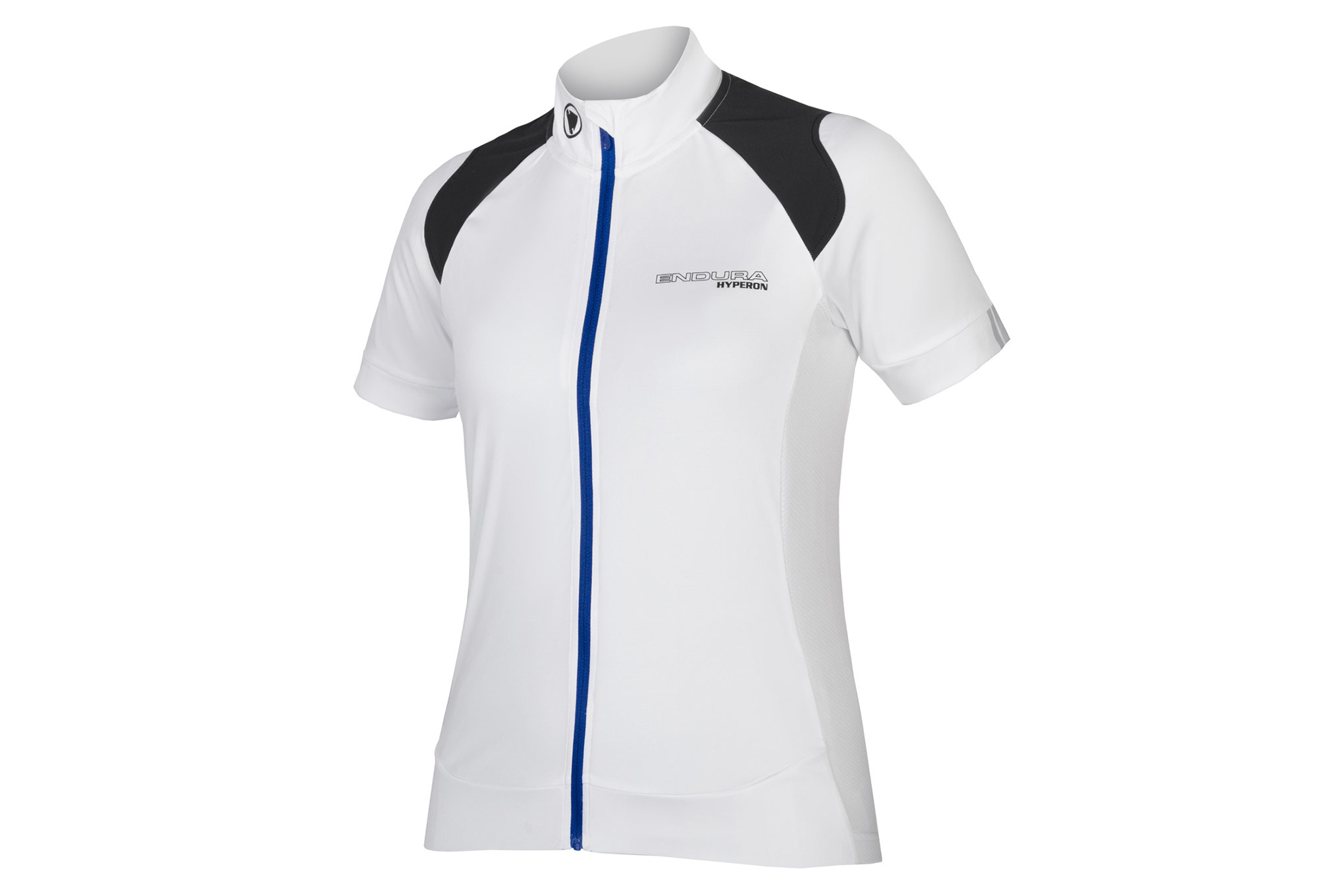 Endura Hyperon Women Short Sleeve Jersey White Blue  4b542163c