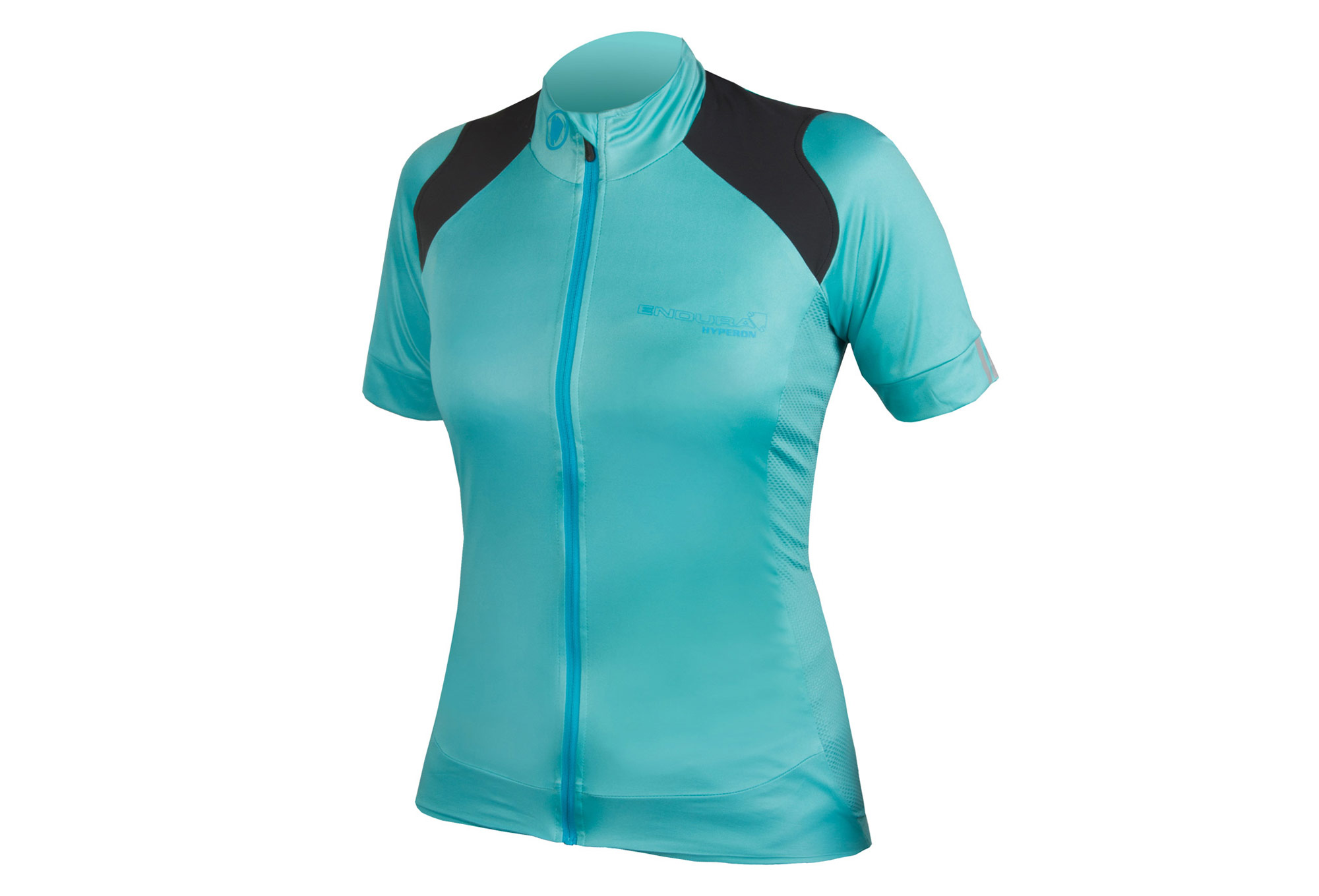 Endura Hyperon Women Short Sleeve Jersey Teal Blue  034cfbb16