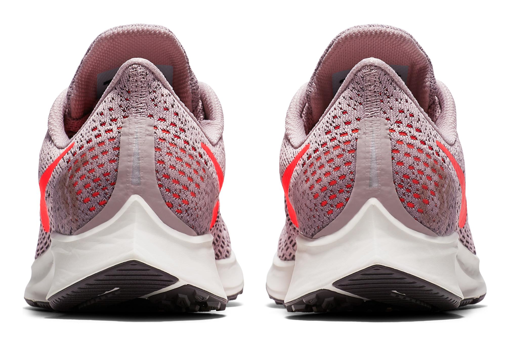 check out 86ff9 8b8ec Chaussures de Running Femme Nike Air Zoom Pegasus 35 Rose   Blanc