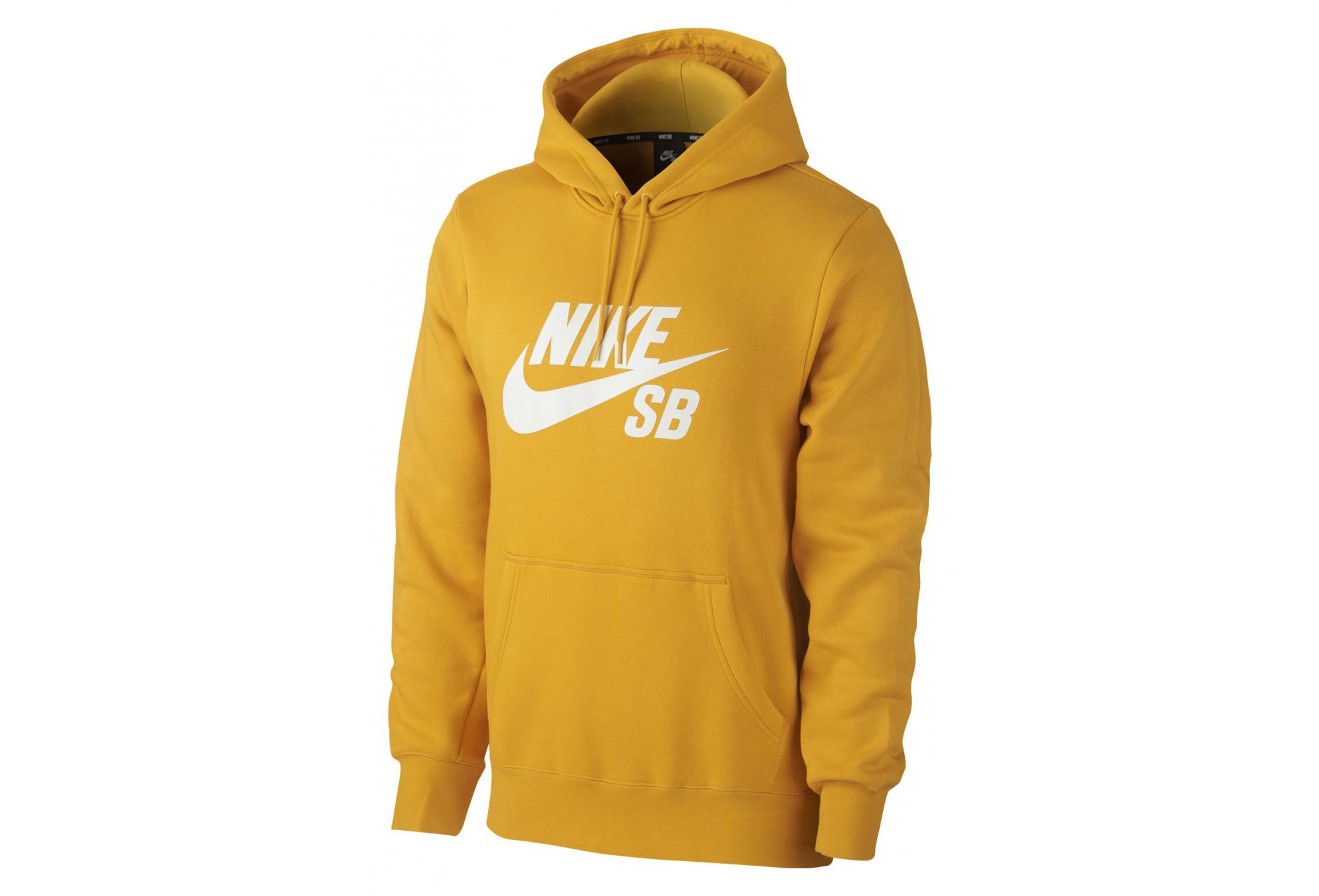 Sweat à Capuche Nike SB Icon Jaune   Alltricks.fr c444fbd9eaa0
