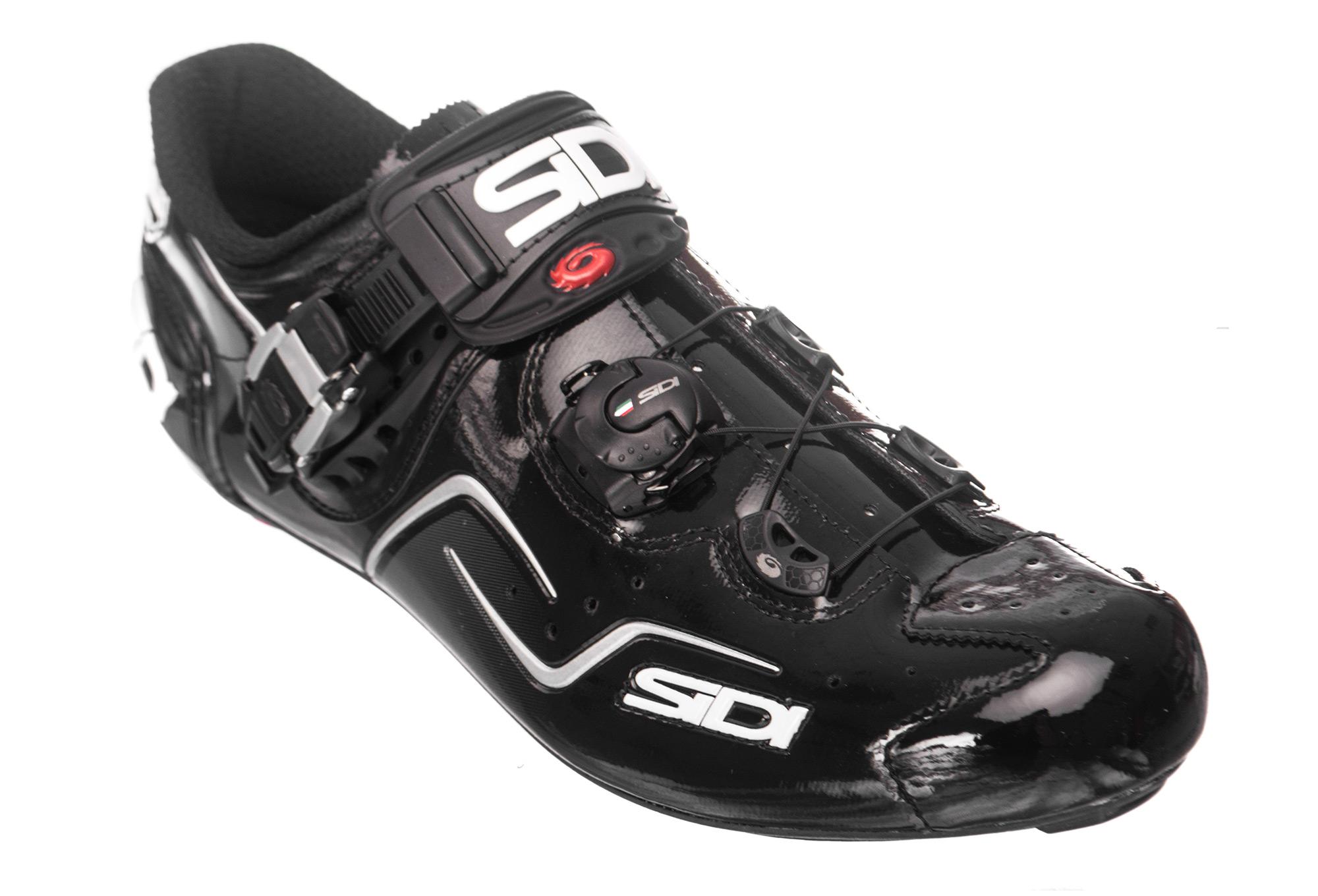 Sidi Kaos Road Shoes - Black Vernice