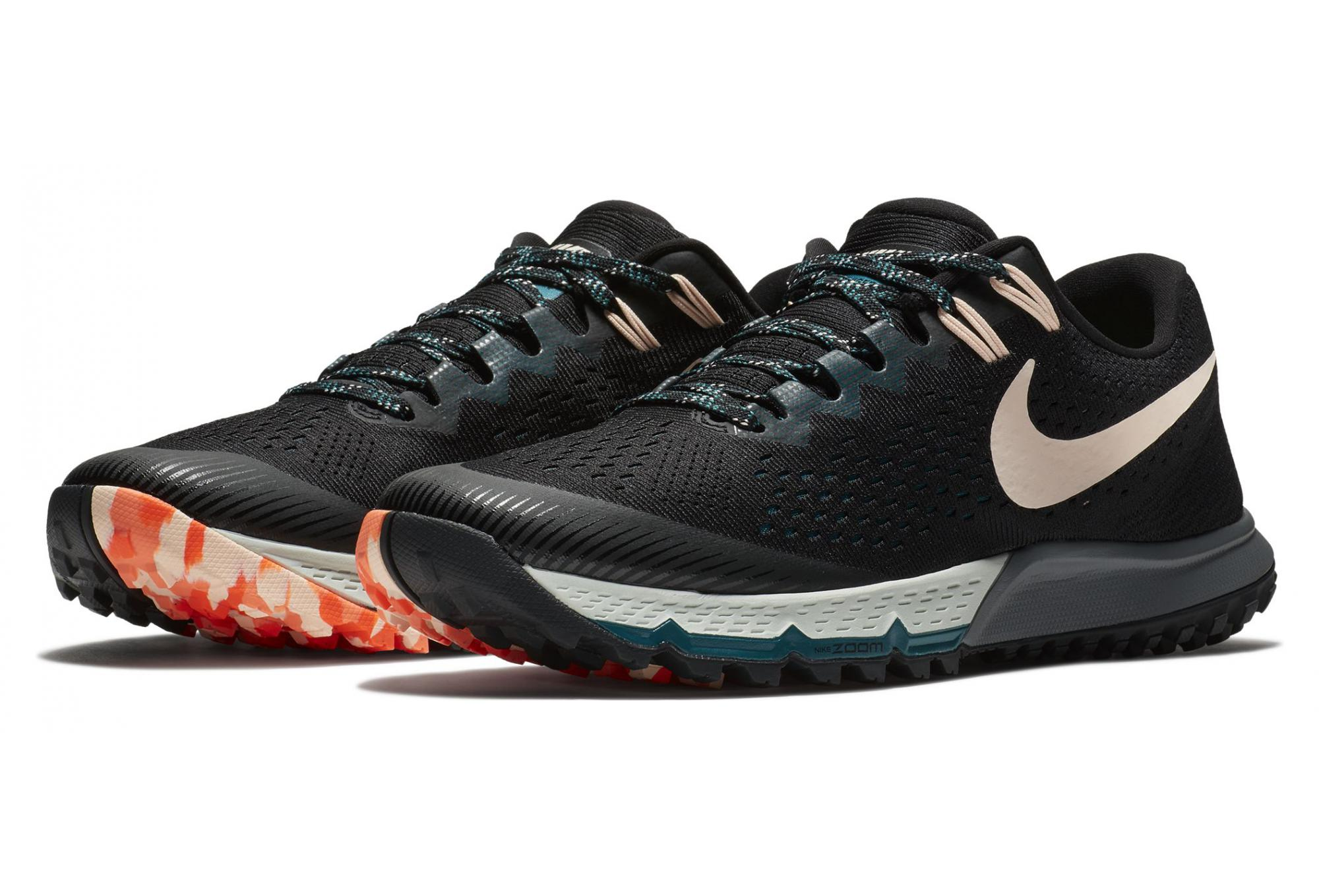 Nike Shoes Air Zoom Terra Kiger 4 Black Orange Men