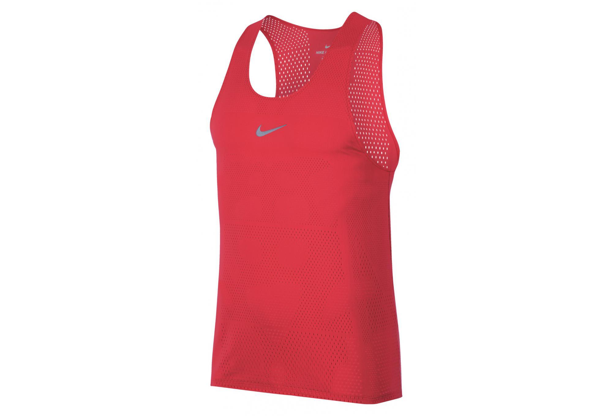 d90d6f6b9d6fb1 Nike Tank AeroSwift Red Men