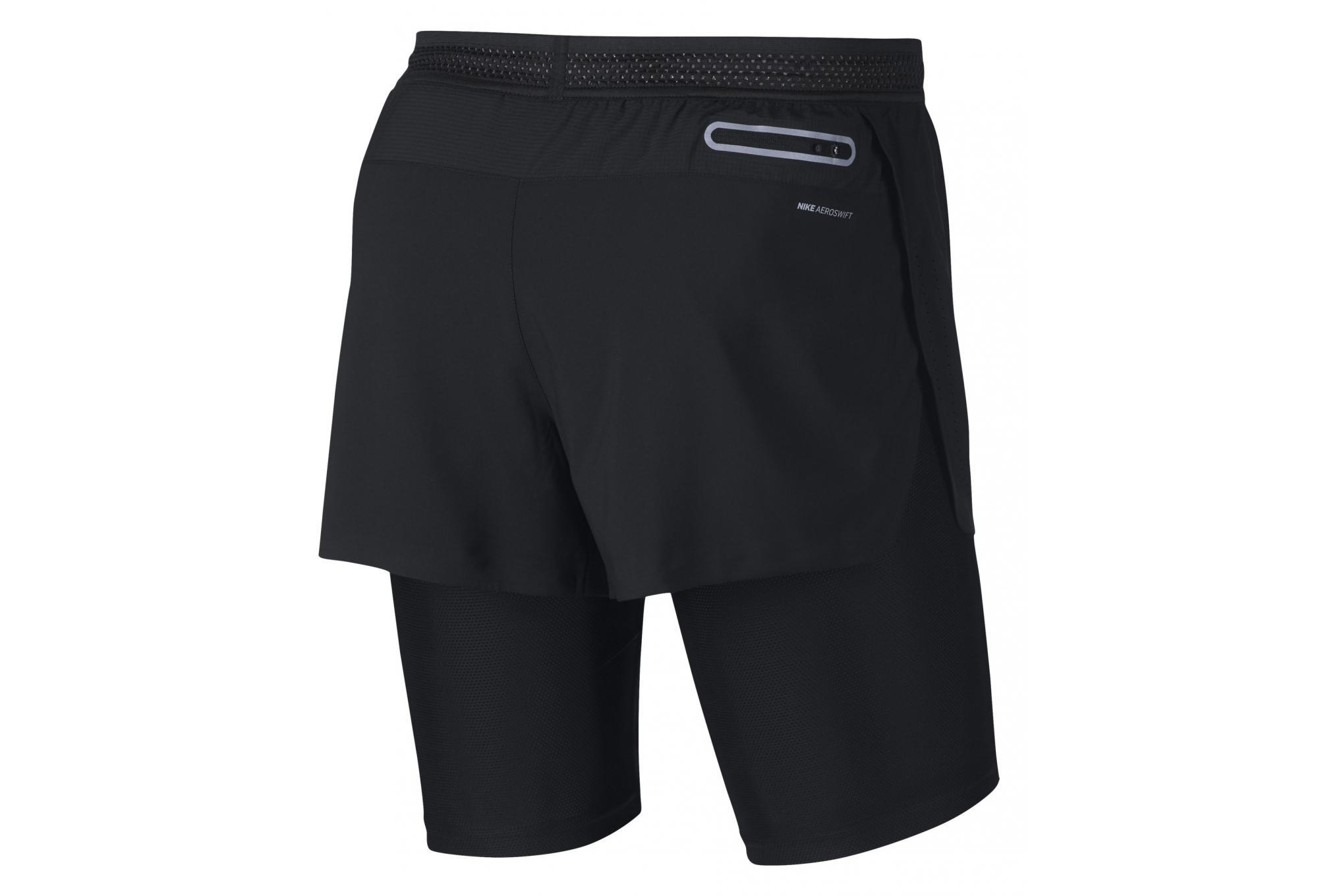 Nike Schwarz Herren 1 AeroSwift in 2 Short nPO0w8k