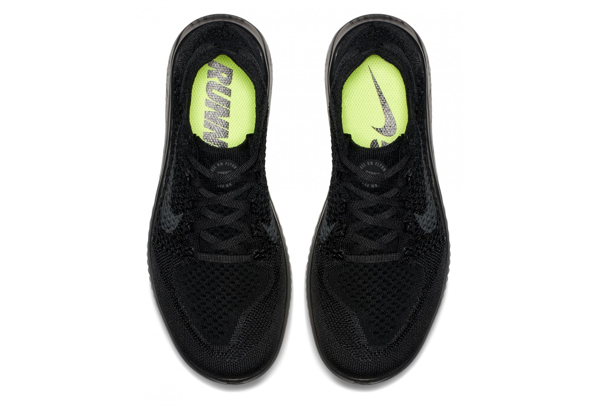 Free 2018 Nike Flyknit Women RN Black Schuhe WDIbEe29YH