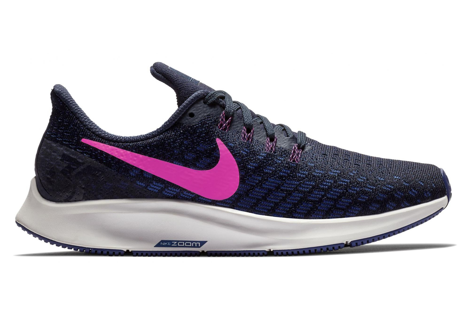 sports shoes 2146e 6d6c1 Chaussures de Running Femme Nike Air Zoom Pegasus 35 Bleu   Rose