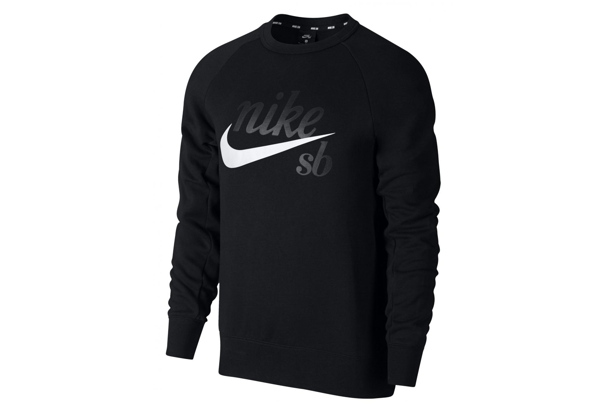 Nike SB Icon Sweat Black White   Alltricks.com 1a50cdc231fd