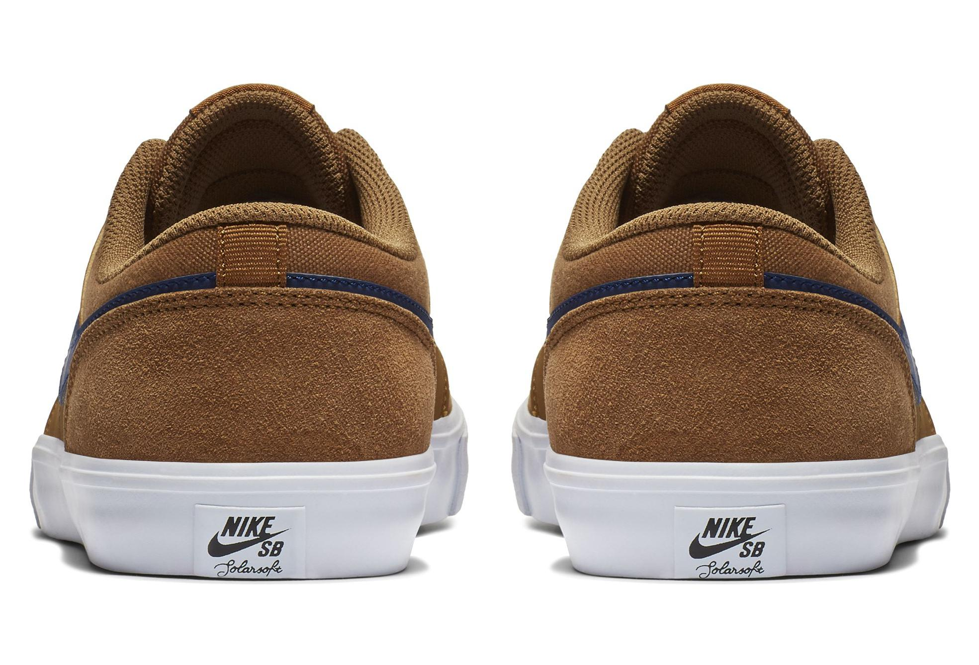 official hot sales sale usa online Nike SB Check Solarsoft Shoes Brown