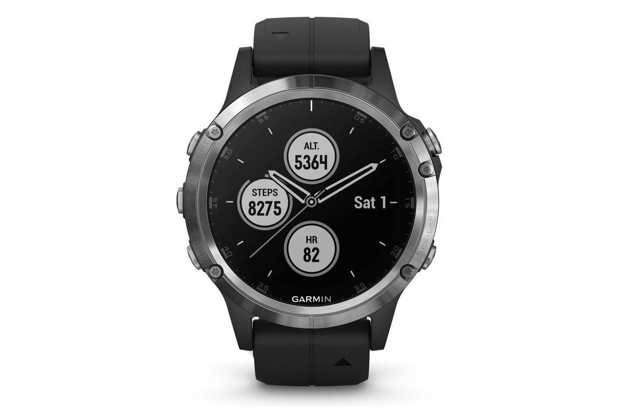 GARMIN Fenix 5 Plus GPS Watch Silver