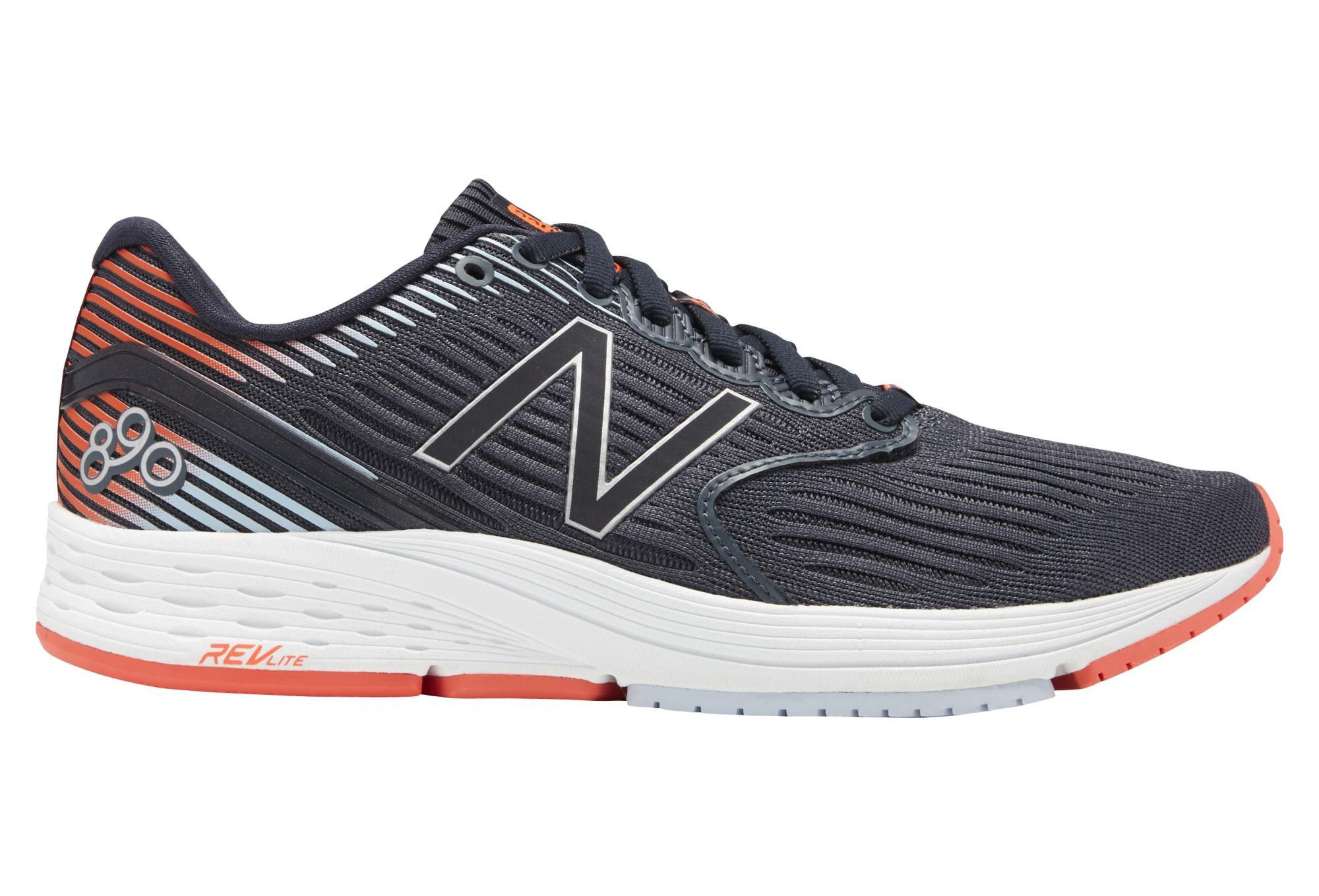 New Balance NBX 890 V6 Grey Orange Women