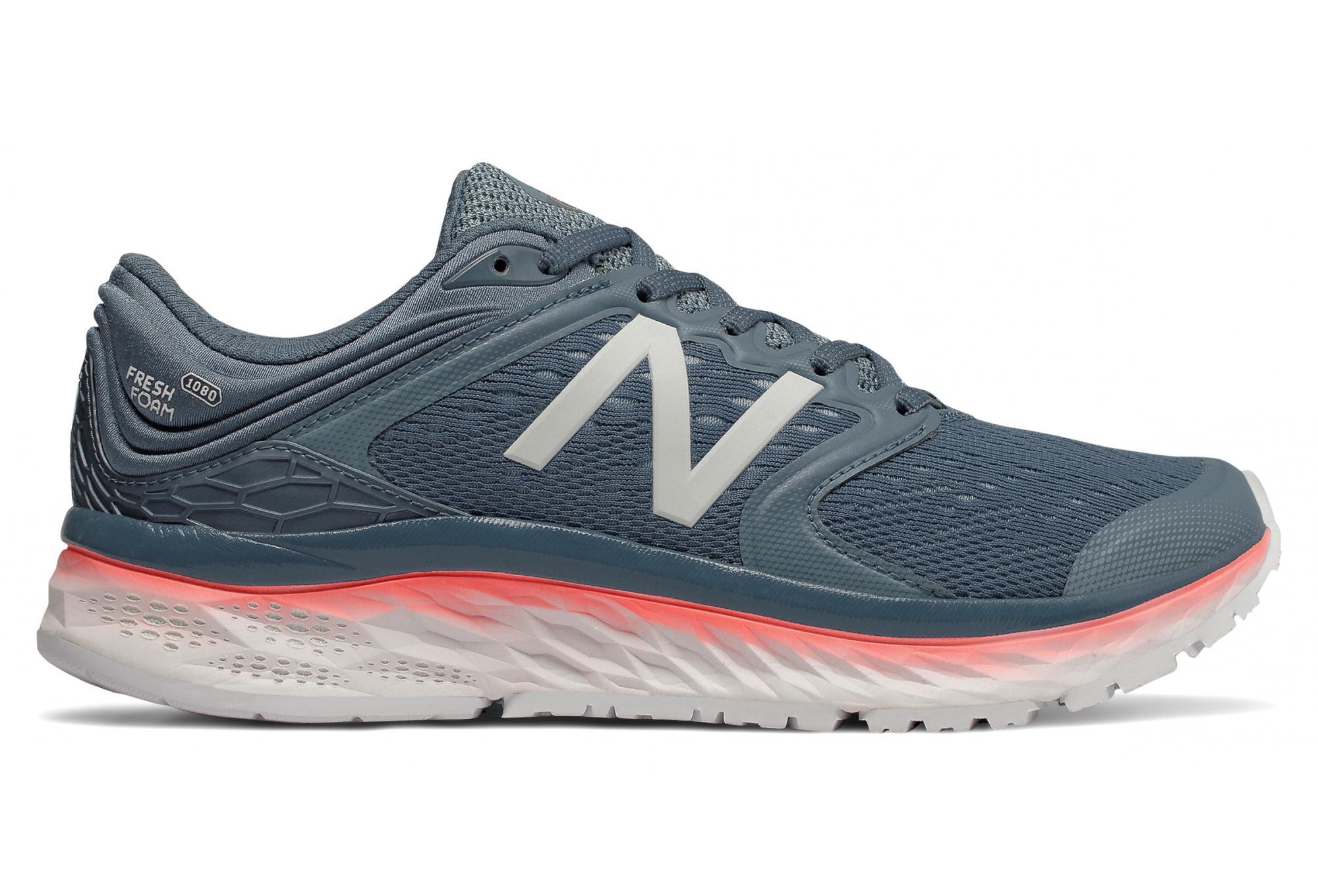 Zapatillas New Balance Fresh Foam 1080 V8 Azul Rosa para Mujer
