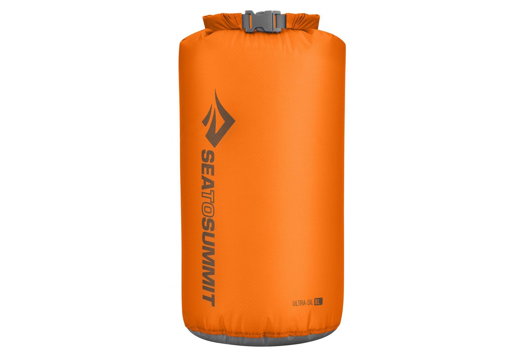 e88f8a853a Sac étanche ultra léger 8L Sea to Summit Ultra Sil Orange   Alltricks.fr