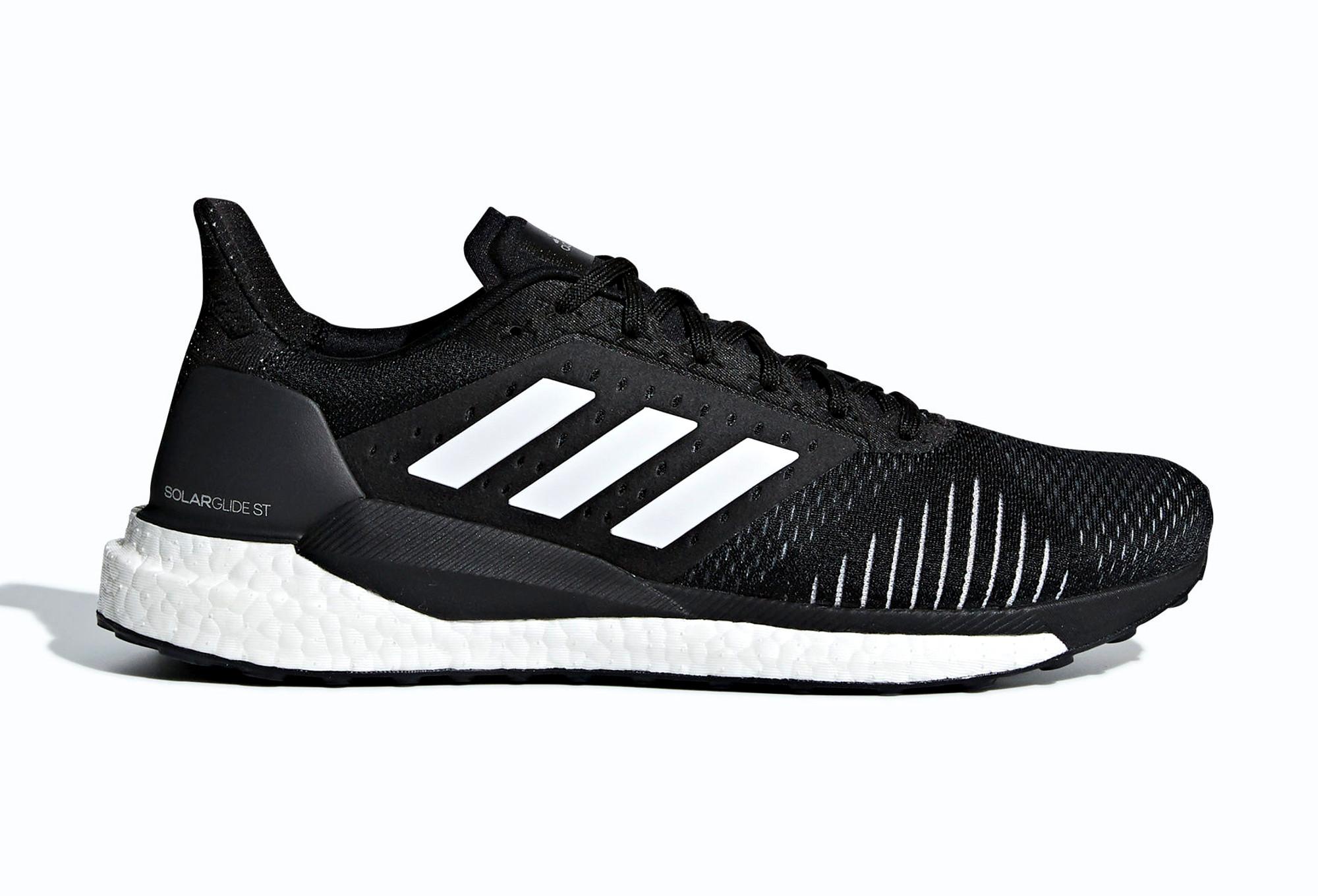 scarpe adidas running nere
