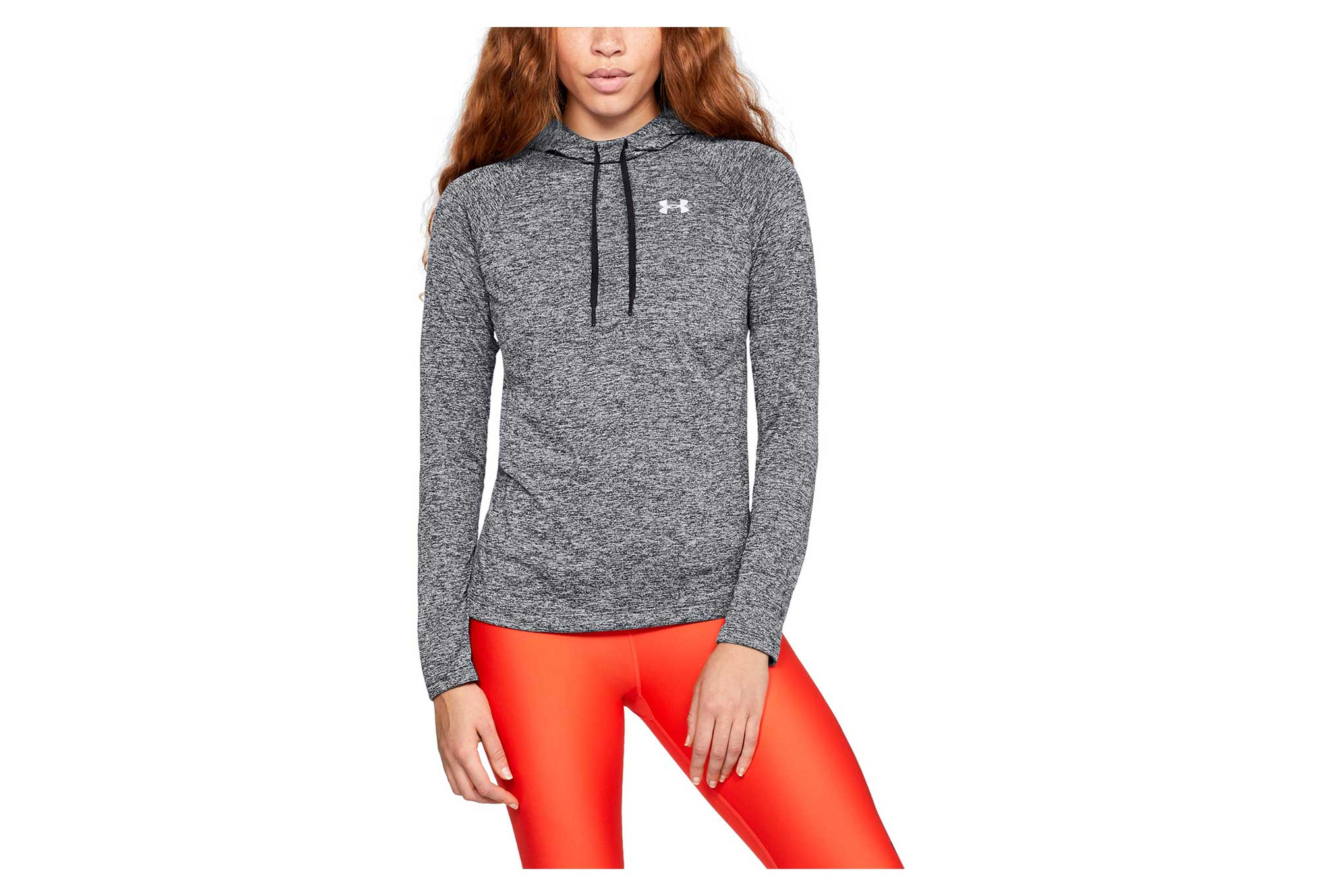 Sweat à Capuche Femme Under Armour Tech Twist Gris Noir