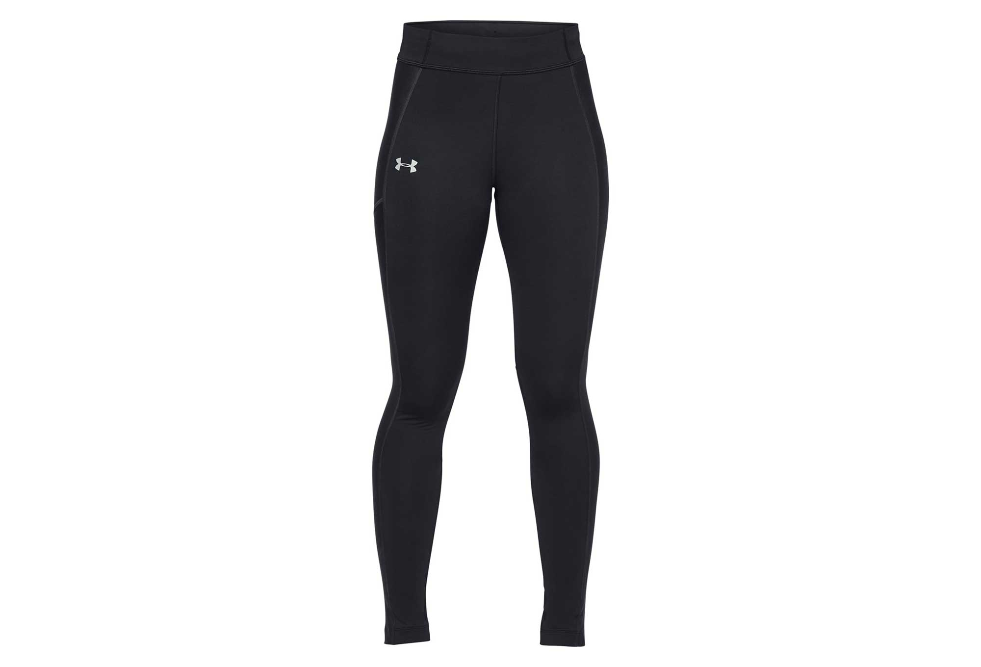 9b7fc2cc62582 Under Armour Coldgear Run Storm Women Long Tights Black | Alltricks.com