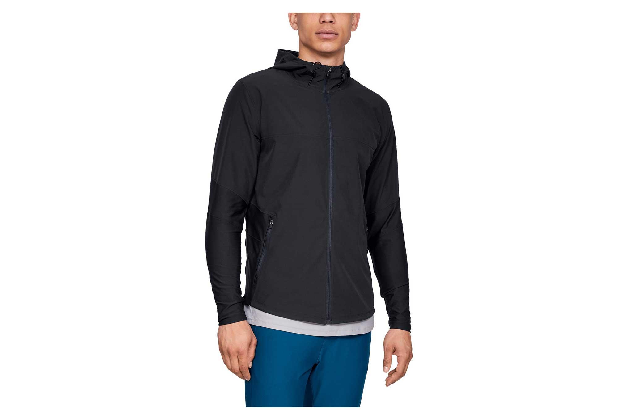 Under Armour Men/'s UA Microthread Vanish Jacket Large Black New