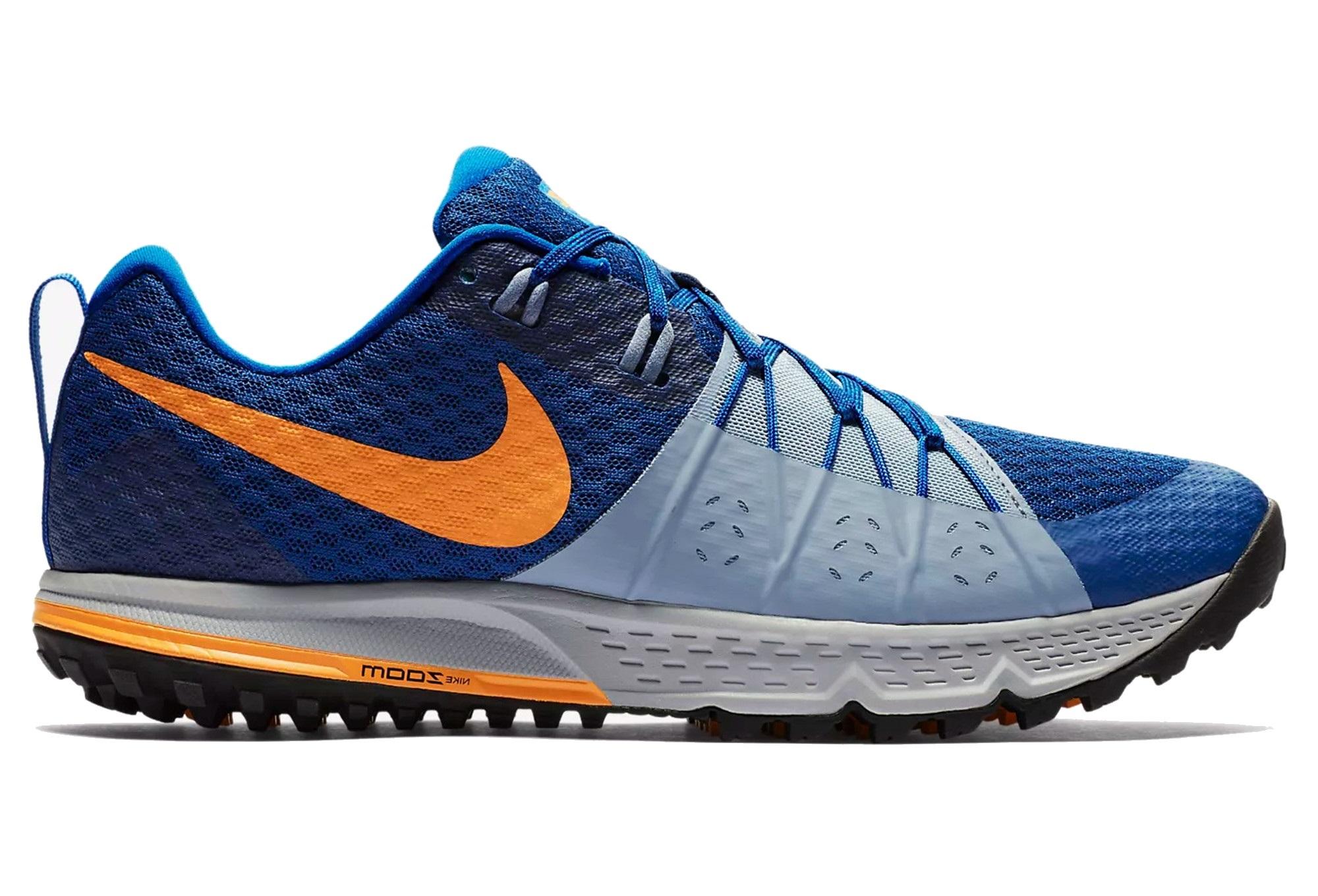 424b71143b8 Nike Shoes Air Zoom Wildhorse 4 Blue Orange Men