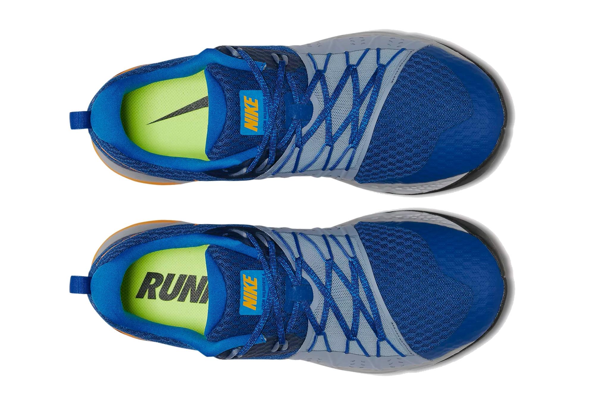 98ed61406d9 Nike Shoes Air Zoom Wildhorse 4 Blue Orange Men