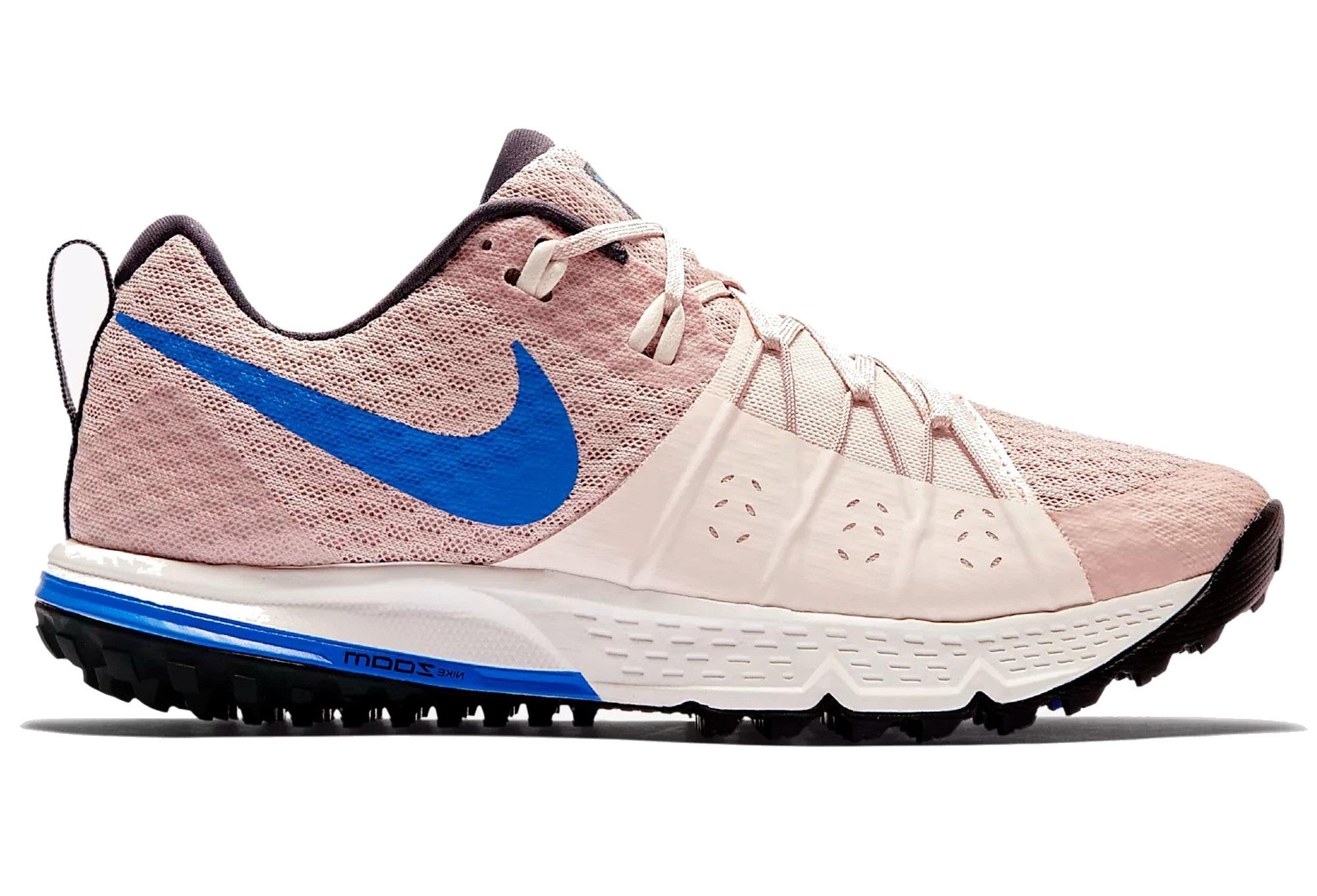 Nike Schuhe Air Zoom Wildhorse 4 Beige Blau Frauen