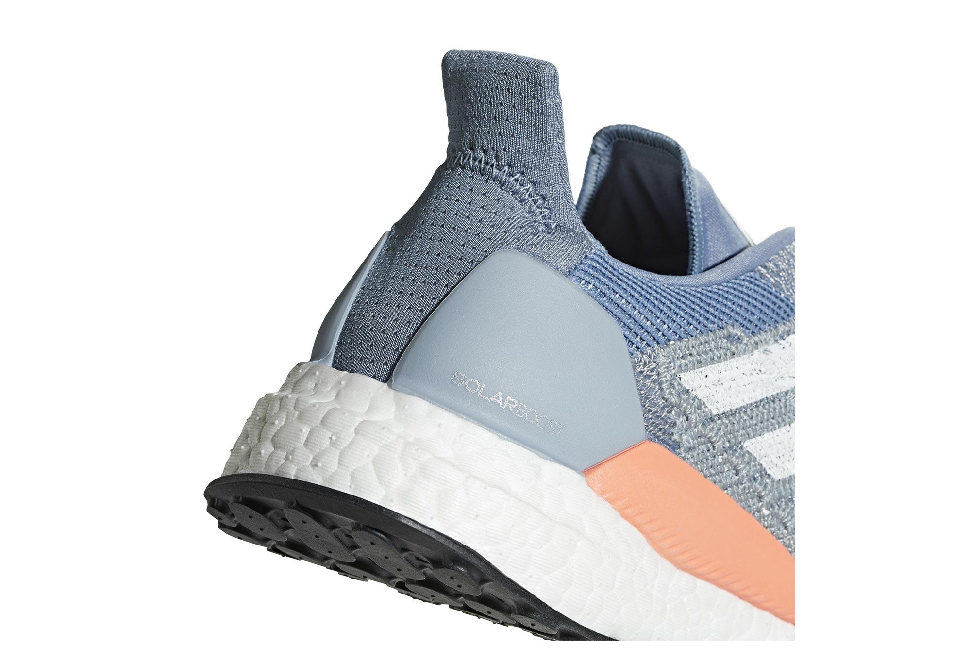 Chaussures de Running Femme adidas running Solar Boost Bleu Corail