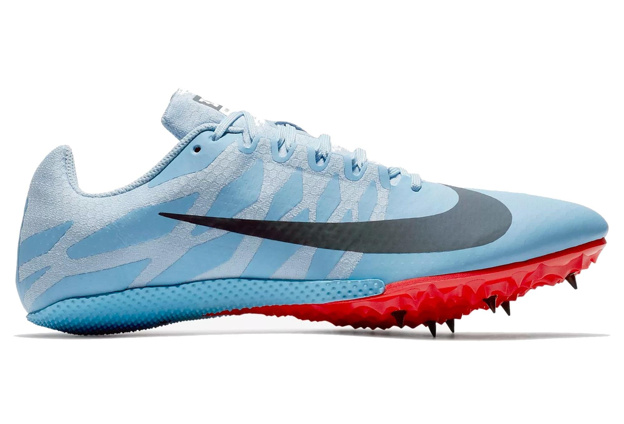 brand new 502cc 6effe Chaussures d Athlétisme Nike Zoom Rival S 9 Bleu   Orange