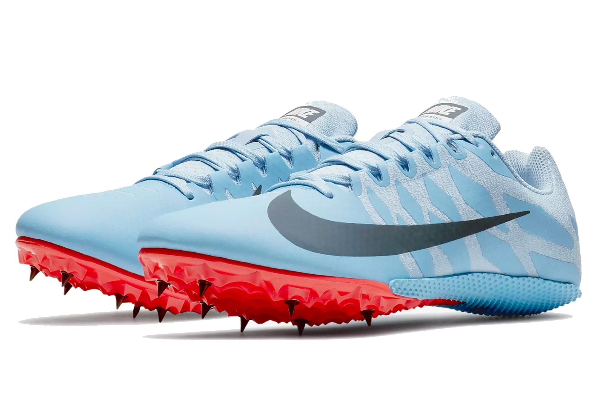 brand new ef07d eed63 Chaussures d Athlétisme Nike Zoom Rival S 9 Bleu   Orange