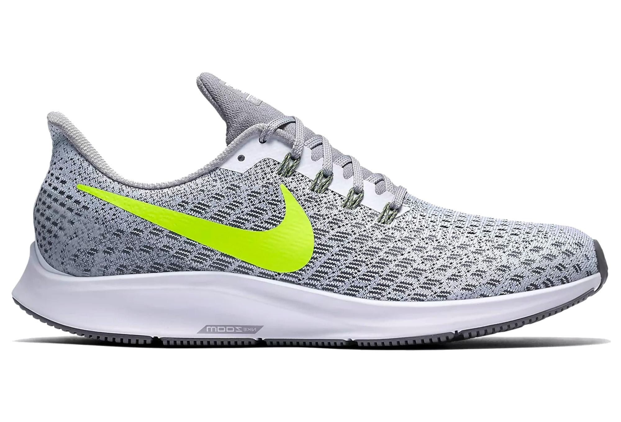reputable site best choice uk cheap sale Nike Air Zoom Pegasus 35 Blanc Jaune Homme