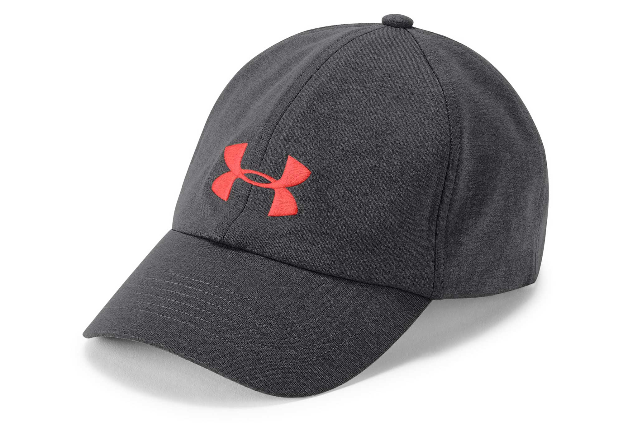 da807f0cad1 Under Armour Microthread Renegade Women Cap Black After Burn Red ...