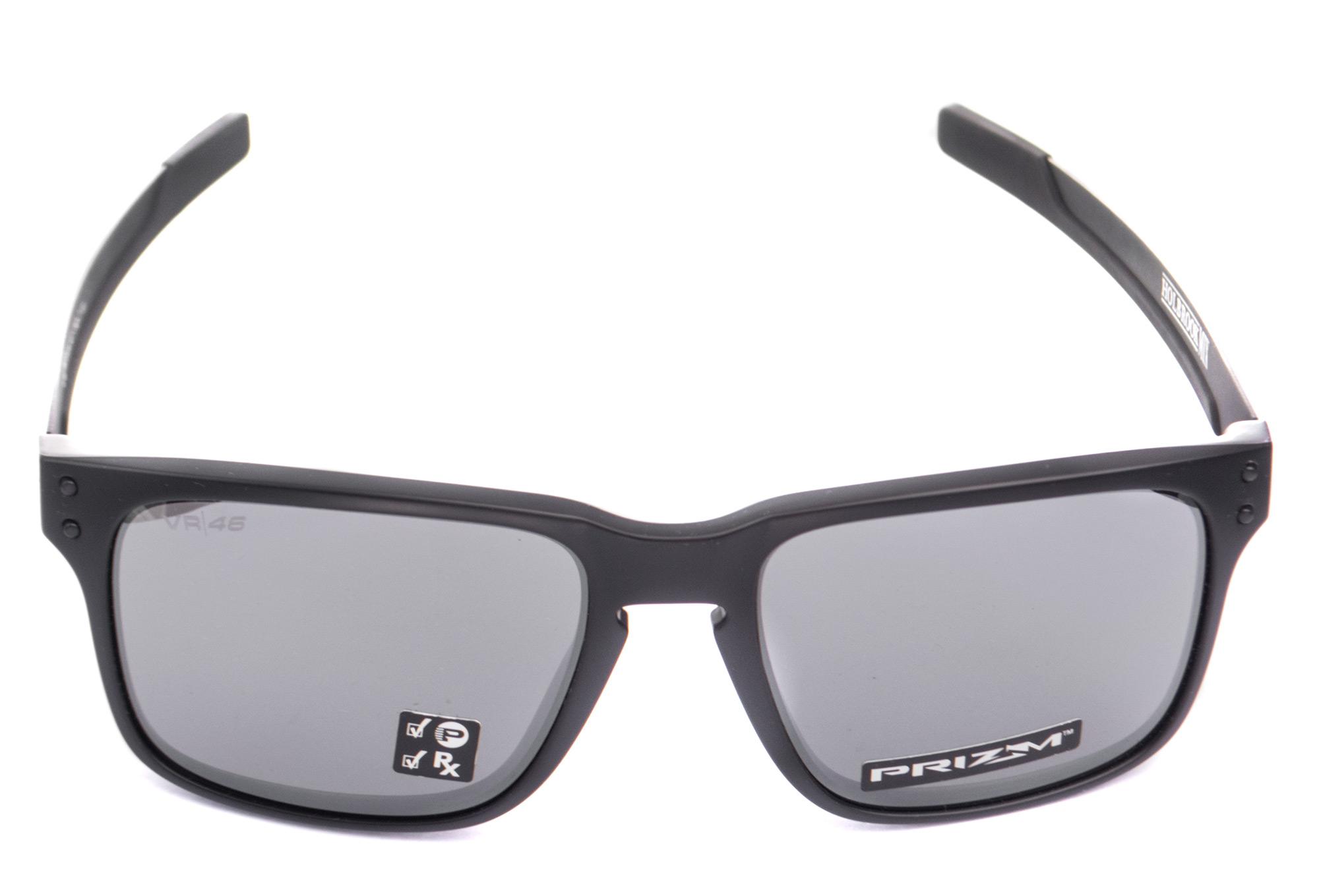b33d918fadb Oakley Holbrook Mix VR46 Glasses Matte Black   Prizm Black Polarized  OO9384-1457