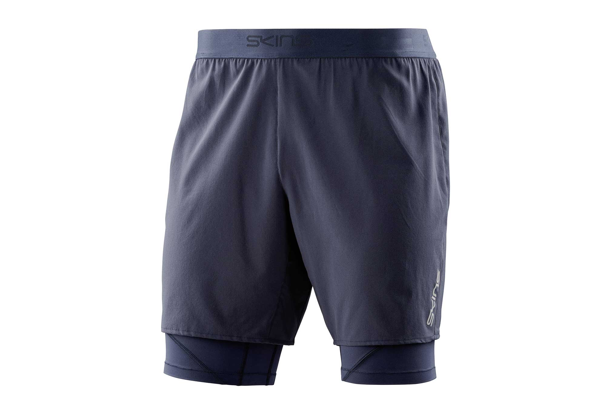 364ca984be106 Skins 2-in-1 Short DNAmic Core Blue Men | Alltricks.com