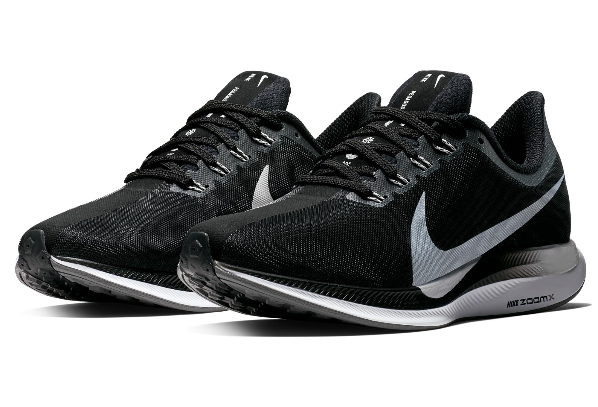 Zapatillas Nike Zoom Pegasus Turbo Negro Blanco Mujeres