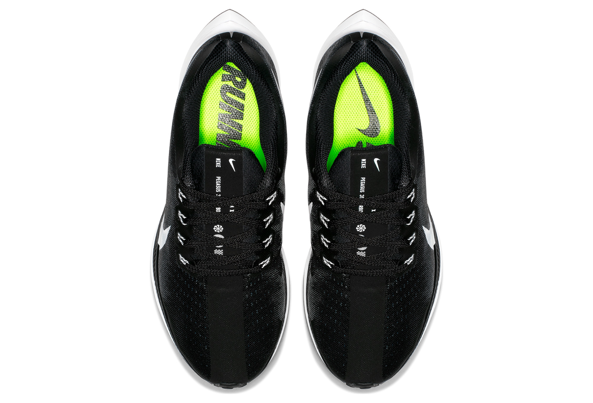 da07b49abf6e0 Chaussures de Running Femme Nike Zoom Pegasus Turbo Blanc   Noir ...