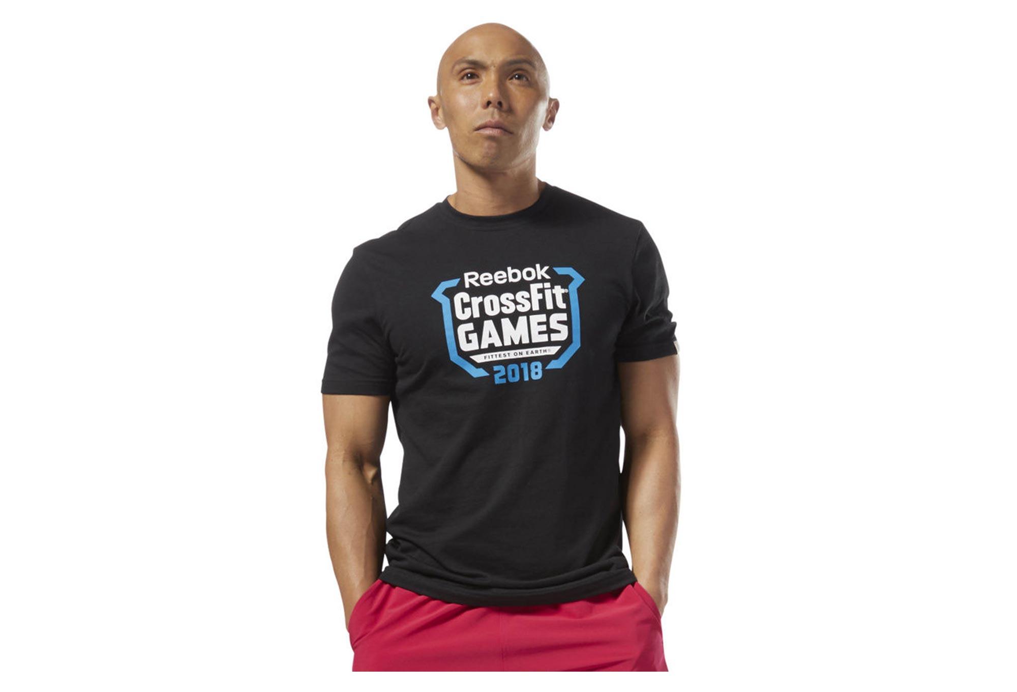 53ce2ae9d Reebok CrossFit Games Crest camiseta negra | Alltricks.es